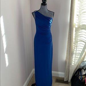 Lauren by Ralph Lauren Blue Maxi Dress